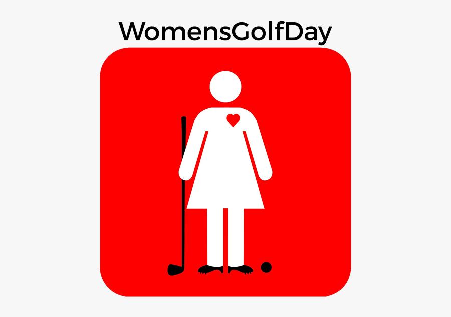 Golf Clip 19th Hole - Womens Golf Day Logo, Transparent Clipart