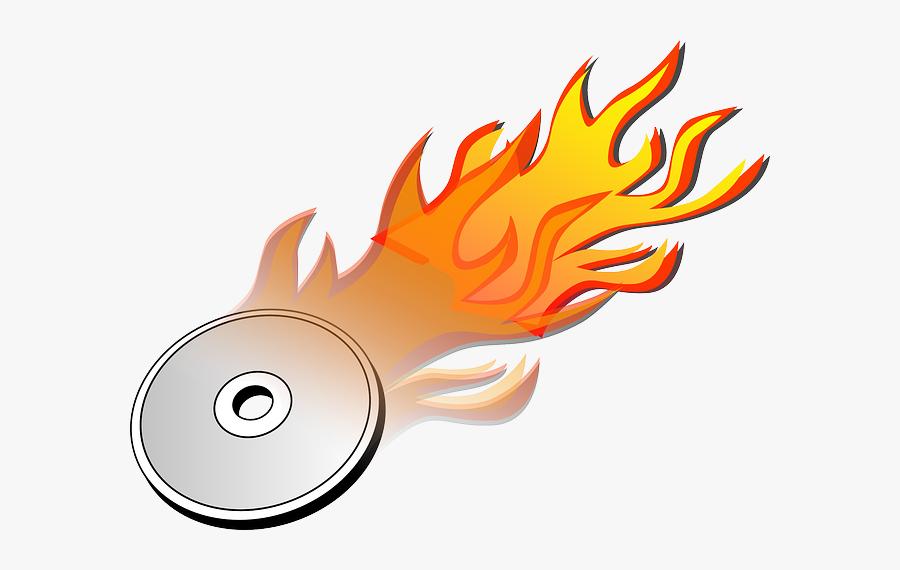 Dvd Burn Burning Hot Fire Idea Pinterest - Burning Disc, Transparent Clipart