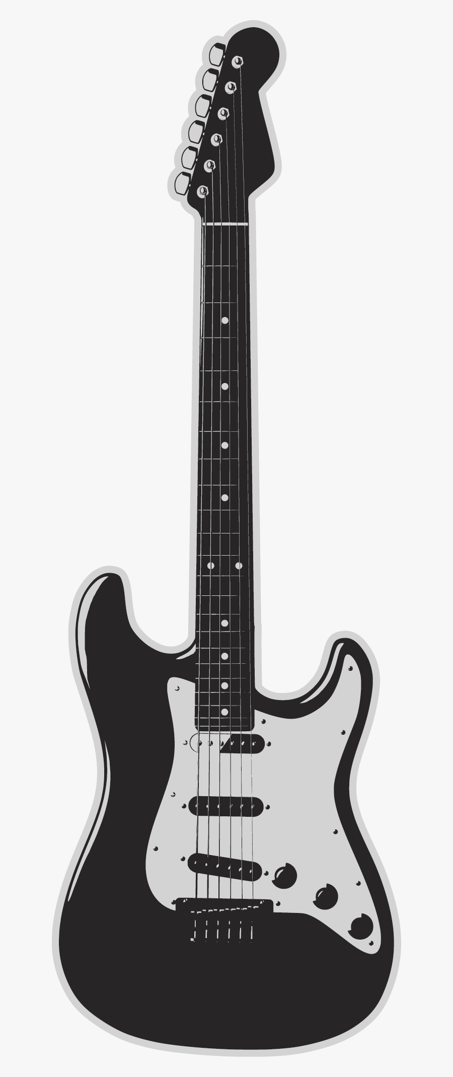 Electric Band Fender Guitar Instrument Vector Stratocaster - Squier Stratocaster Vintage Modified Surf Red, Transparent Clipart