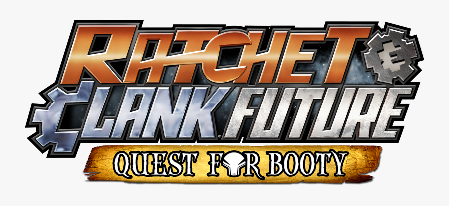 Transparent Ratchet And Clank Logo Png Ratchet Clank Future Quest For Booty Logo Free Transparent Clipart Clipartkey