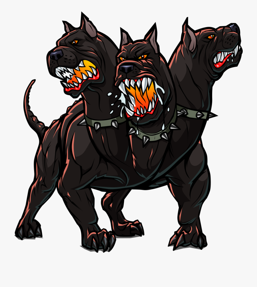 Clip Art Cerberus Hellhound