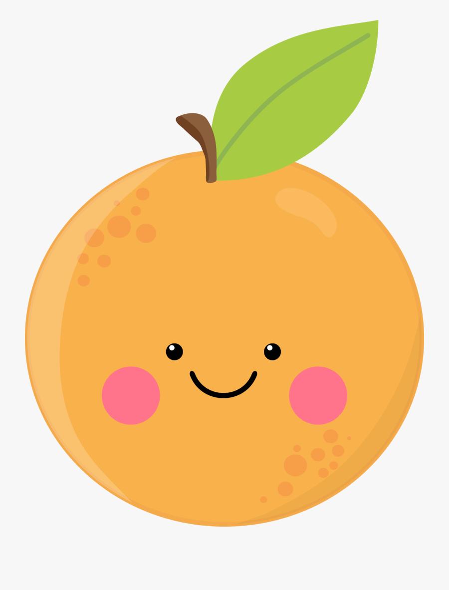 Cute Orange - Cute Orange Transparent Background, Transparent Clipart