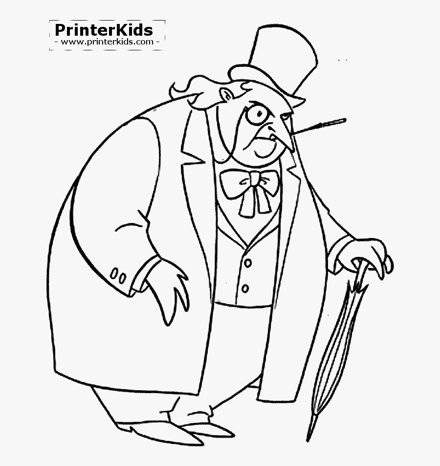Printable Penguin Coloring Pages For Kids | 953x900
