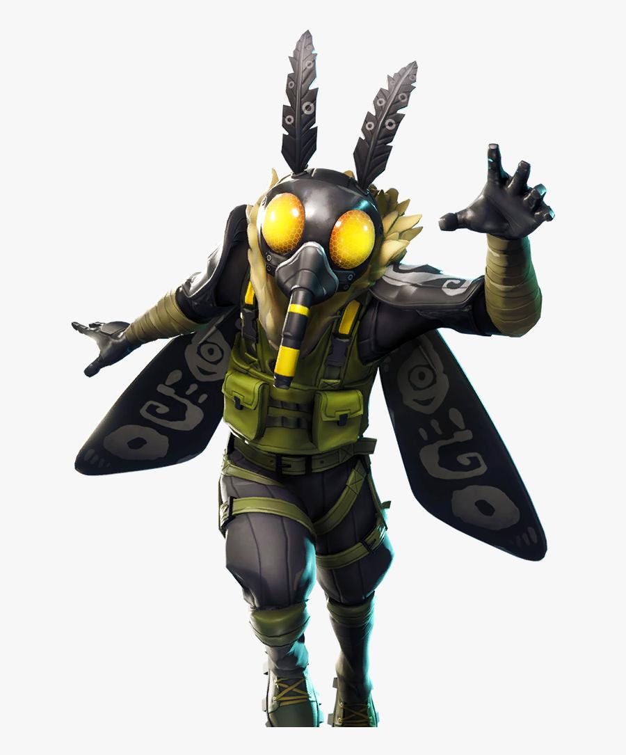 Fortnite Moth Skin Png, Transparent Clipart