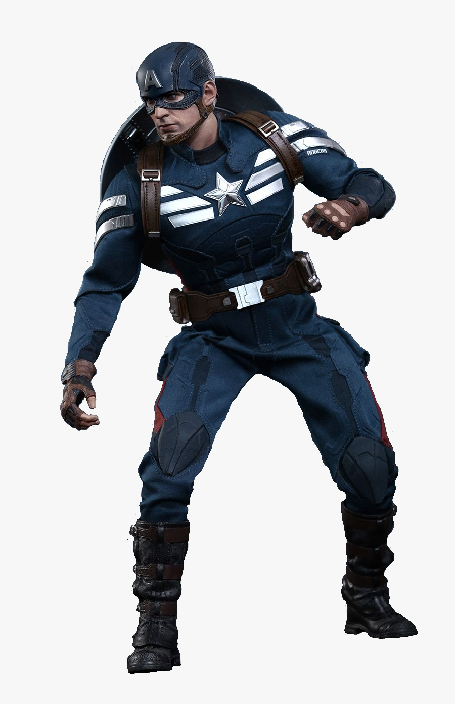 America Barnes Bucky Figures Iron Action Toy Clipart - ステルス スーツ キャプテン アメリカ, Transparent Clipart