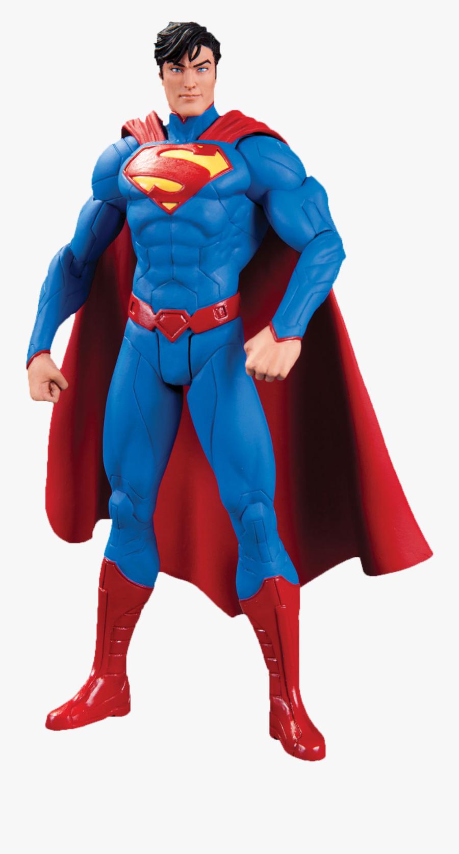 Clip Art Action Figure Collection Clipart - New 52 Toys Superman, Transparent Clipart