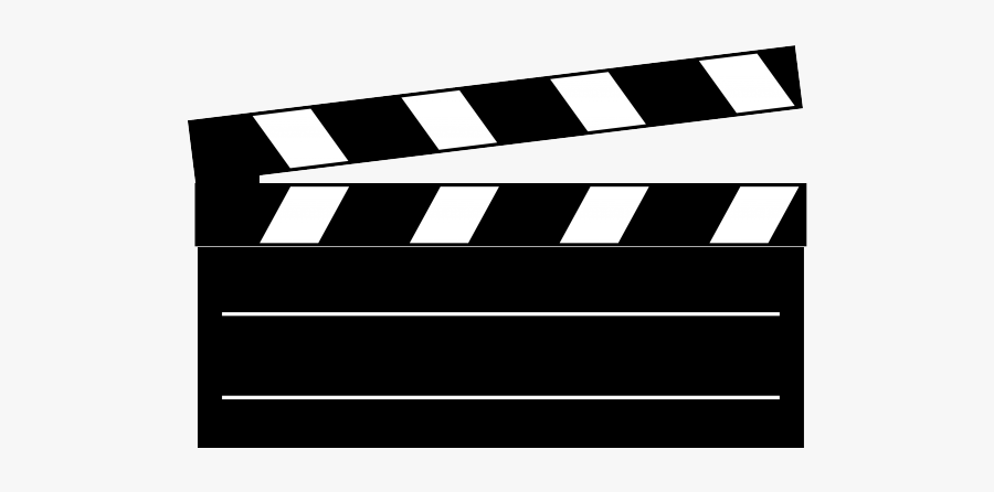 Clapper Board Gif Png, Transparent Clipart