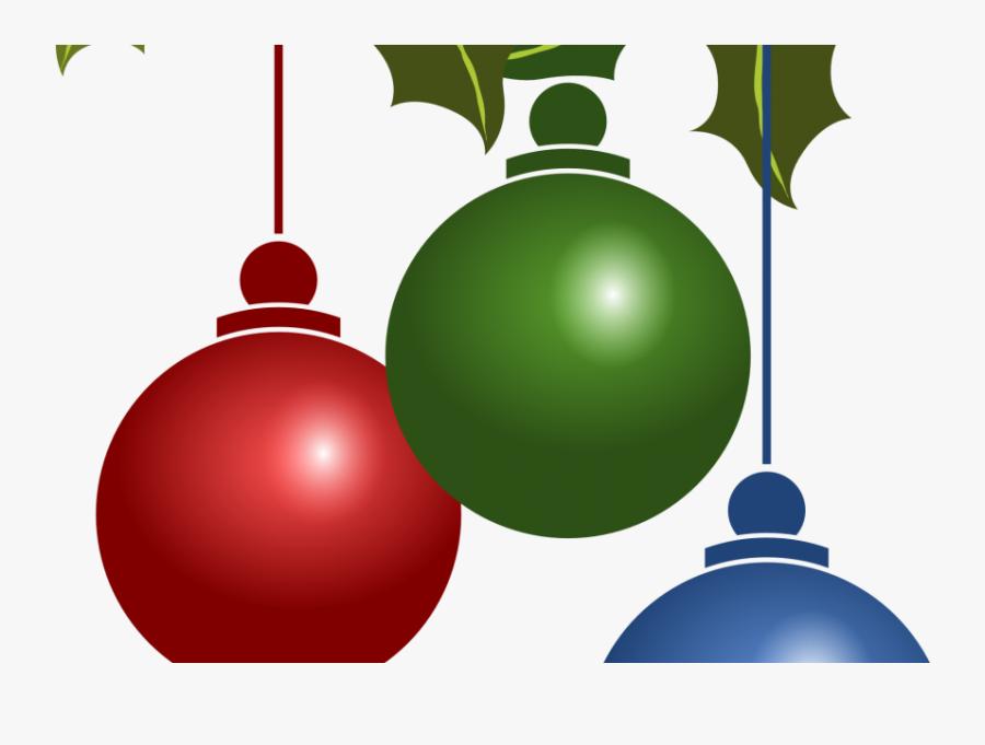 Free Holiday Clipart Clip Art Free Clip Art Microsoft - 3 Boules De Noel, Transparent Clipart