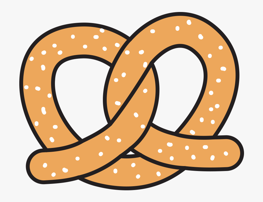 Food Drink Esl Library - Clip Art Pretzel Cartoon, Transparent Clipart