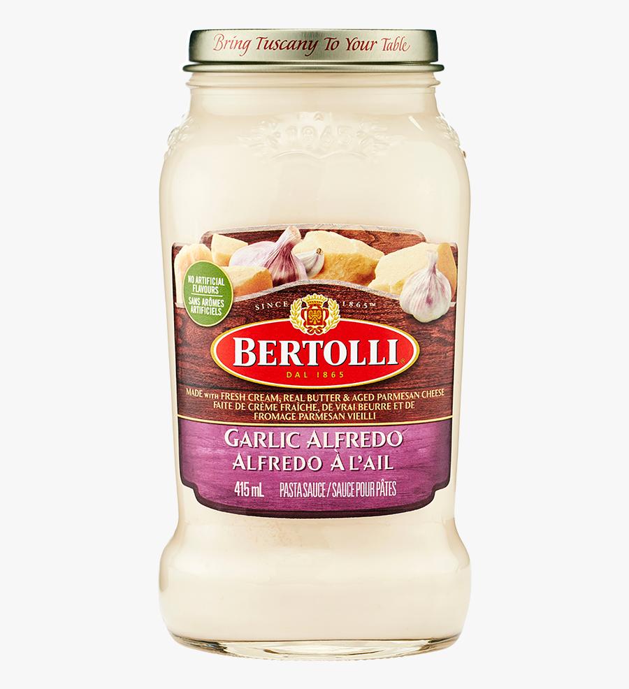Pasta Clipart Alfredo Pasta - Bertolli, Transparent Clipart