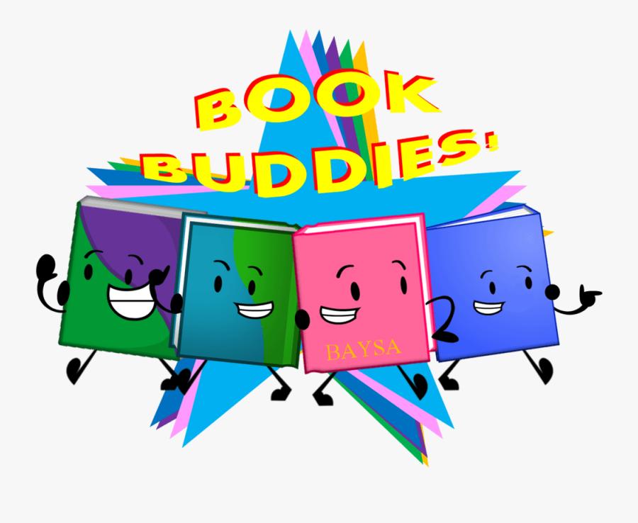 Book Buddies By Piggy - Book Buddies Clipart, Transparent Clipart