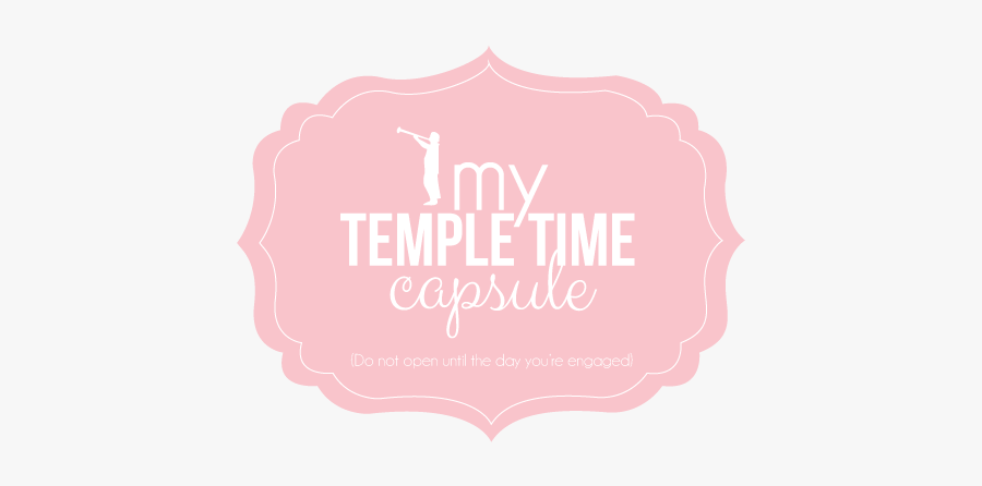 Cover Time Capsules Pink - Temple Bar Company, Transparent Clipart
