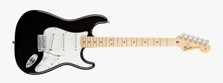 Fender Standard Stratocaster Electric - Squier Classic Vibe 50s Stratocaster Black, Transparent Clipart
