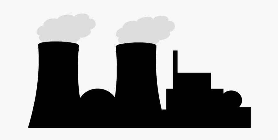 Nuclear Power Plant Transparent Background, Transparent Clipart