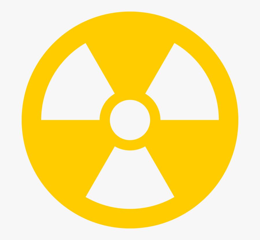 Transparent Nuclear Power Plant Clipart - Radioactive Transparent, Transparent Clipart