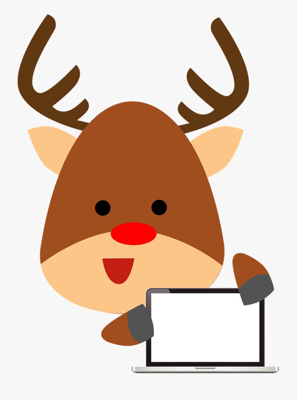 Deer Computer Animal Cartoon - การ์ตูน รูป กวาง, Transparent Clipart