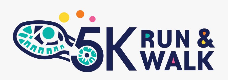 5k Walk And Run Logo-09 - 5k Walk Run Logo, Transparent Clipart