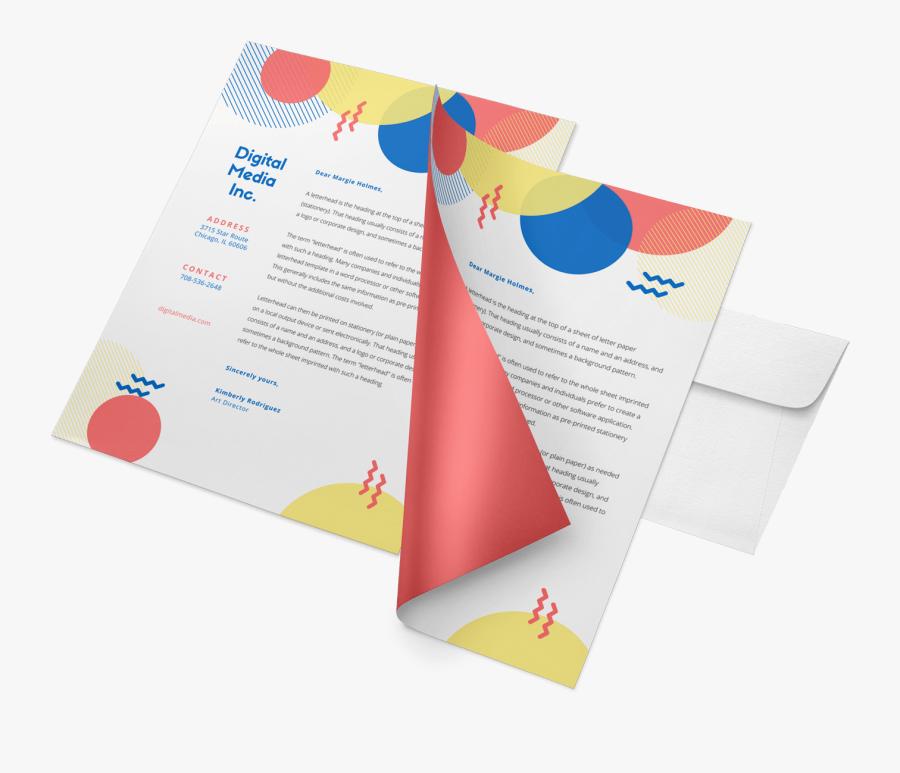 Clip Art Graphic Design Letterhead - Letter Head Printing Png, Transparent Clipart