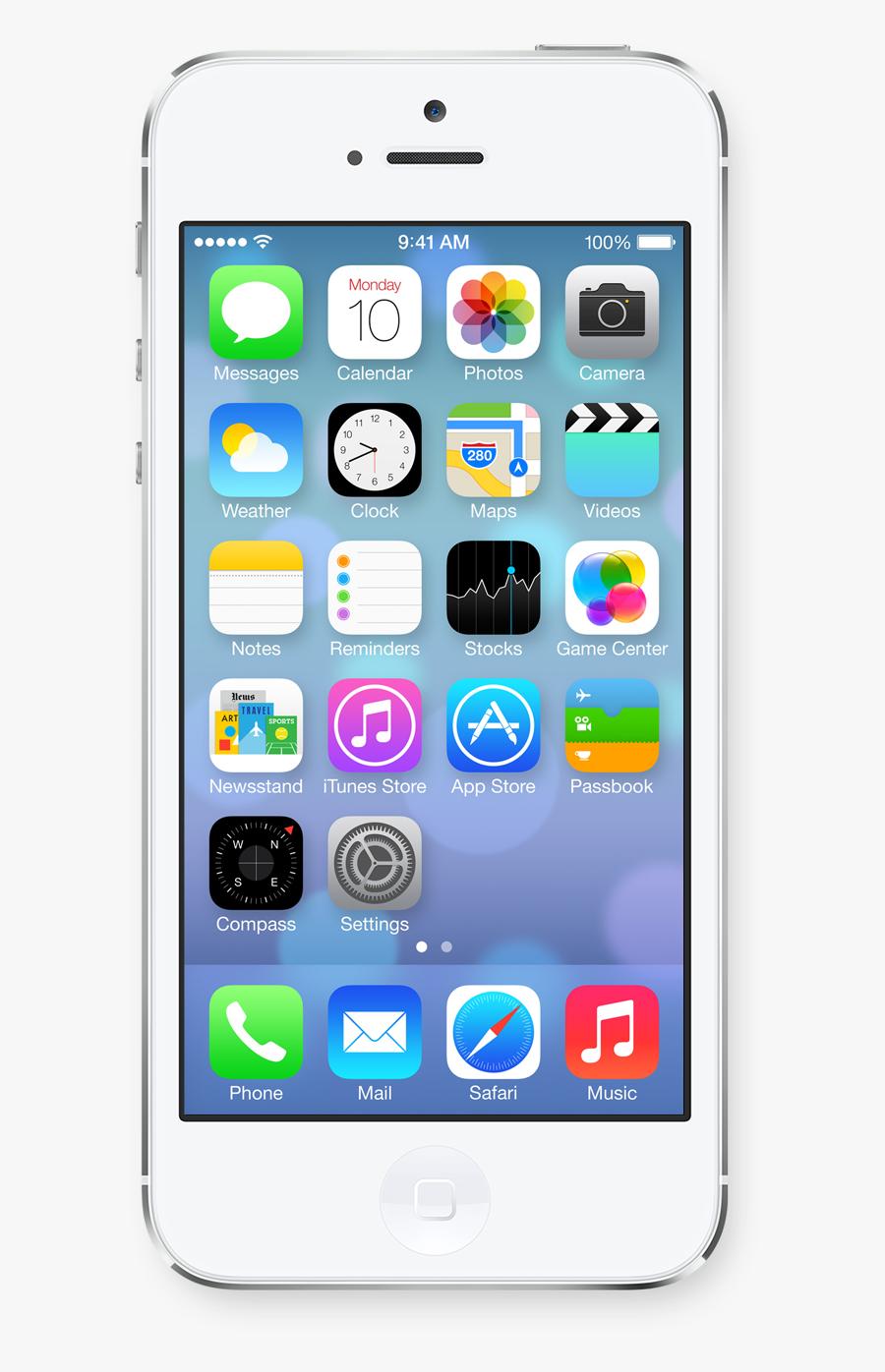 Apple Iphone 6, Transparent Clipart