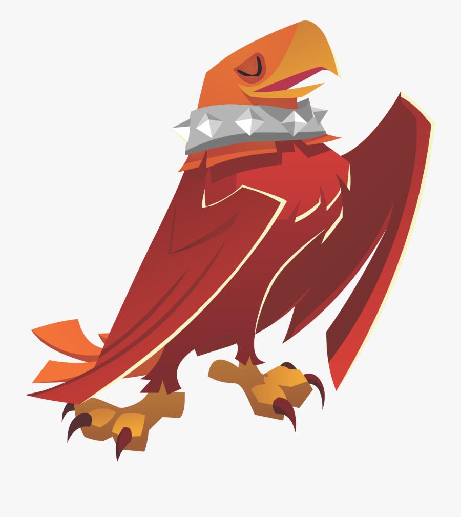 Transparent Jam Clipart - Animal Jam Eagle, Transparent Clipart