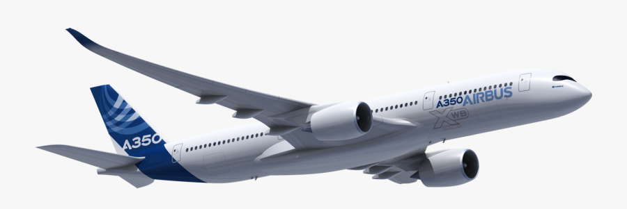 Airbus A350 800 - Airbus A340 600 Png, Transparent Clipart