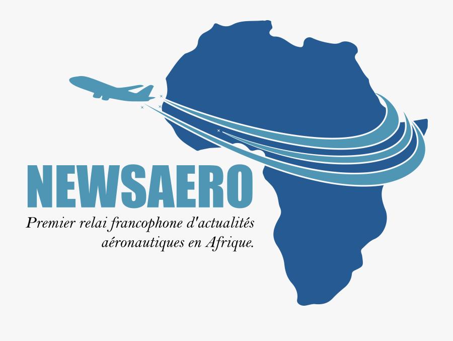 Transparent Clipart Avion Gratuit - Africa Map, Transparent Clipart
