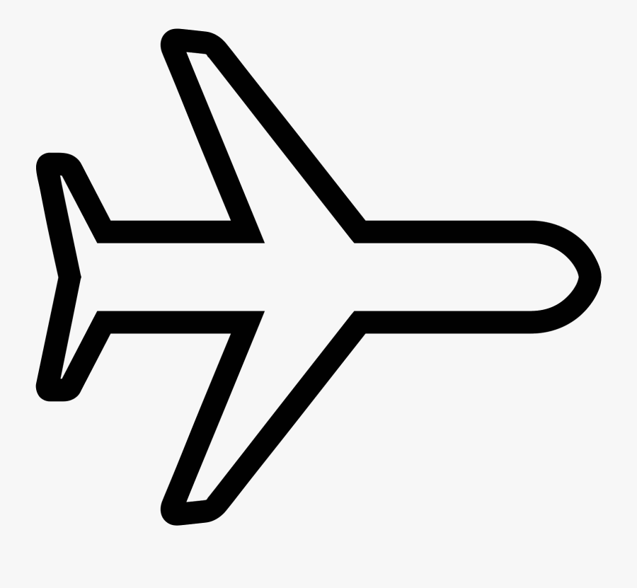 Clip Library Library Mode Avion On Icono Descarga Gratuita - White Plane Icon Png, Transparent Clipart