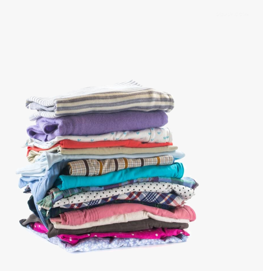 Clip Art Clothing Stock Photography Stack - Stack Pile Of Cloth, Transparent Clipart