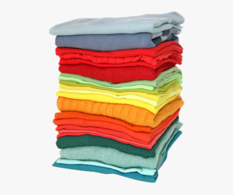 Haydock Laundry Service Launderette - Stack Of Clothes, Transparent Clipart