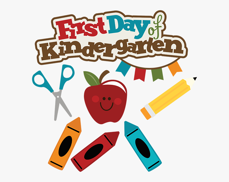 Image Result For First Day Of Kindergarten 2018 Clipart - First Day Of Grade 3, Transparent Clipart