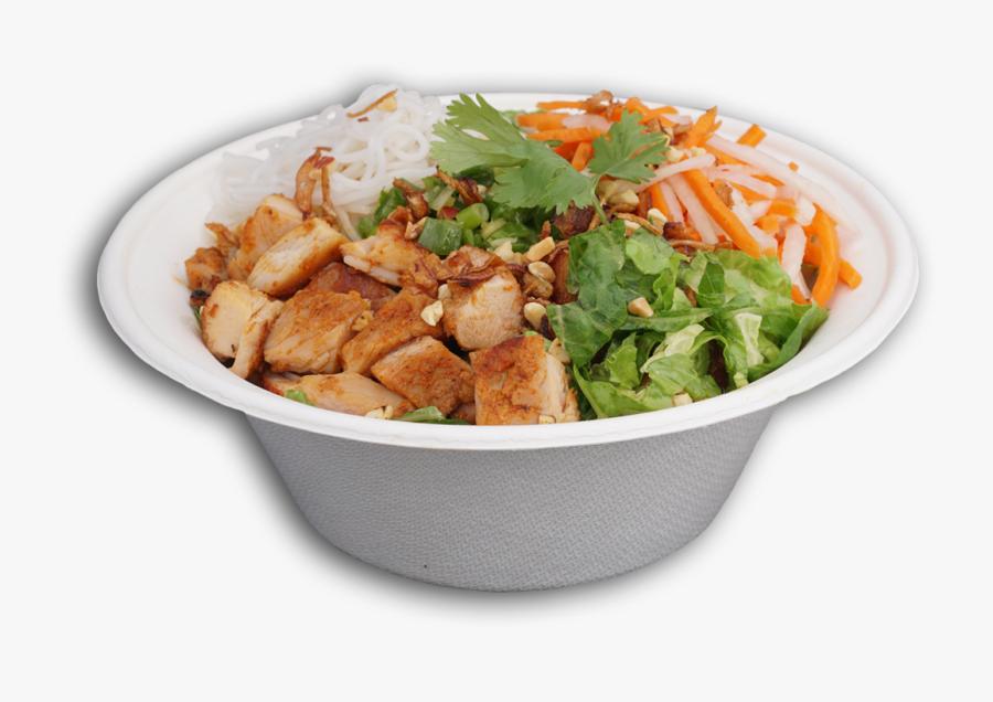 Zao Bowl - Caesar Salad, Transparent Clipart