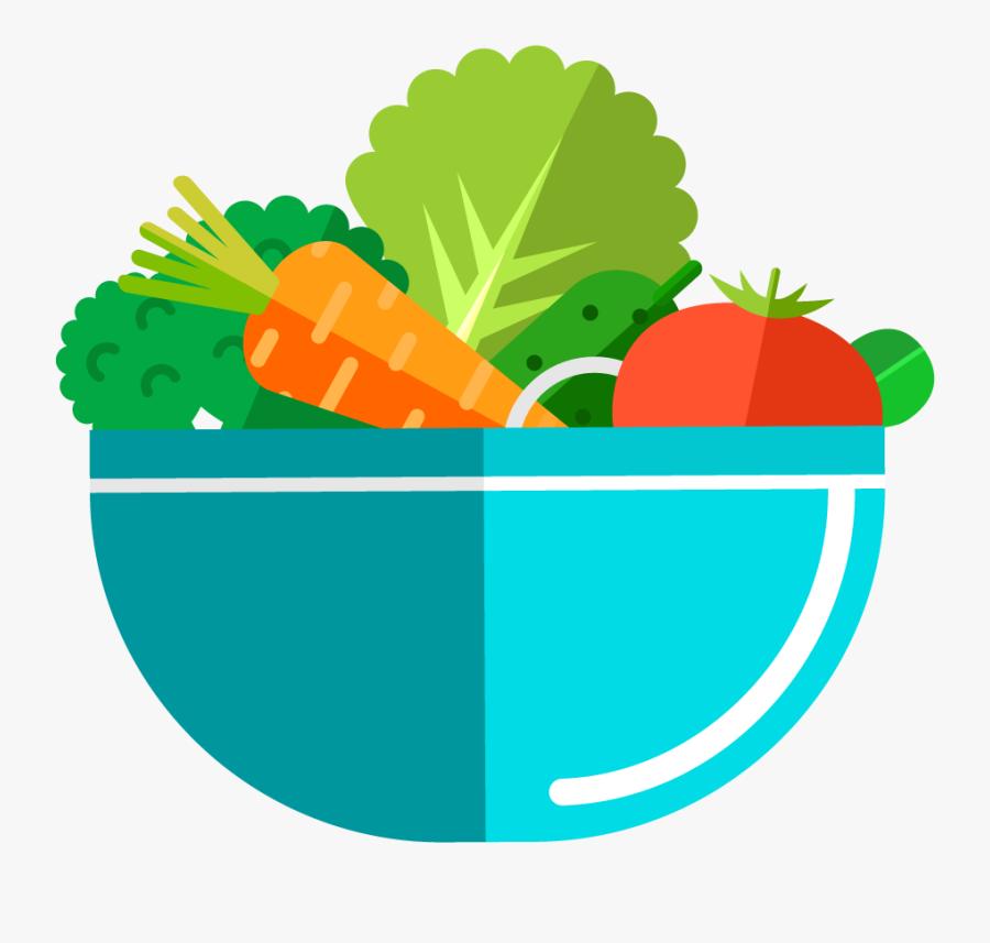 Diced Greens Salads Juices - Logo De Ensaladas Delivery, Transparent Clipart