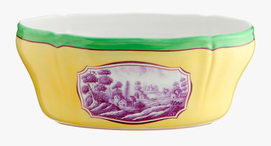 Salad Bowl Toscana Citrino - Porcelain, Transparent Clipart