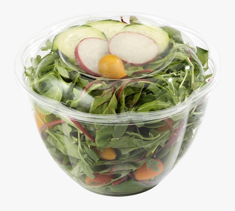 48 Oz World Centric Clear Salad Bowl - Bowl, Transparent Clipart