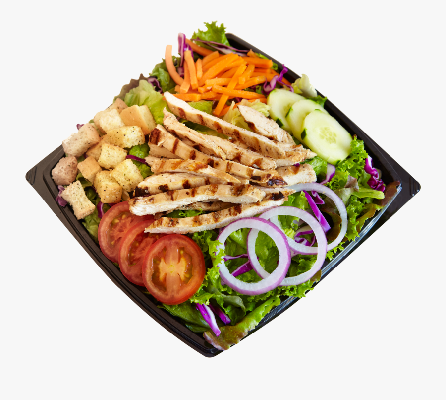 Habit Burger Salad Png - Chicken With Salad Png, Transparent Clipart