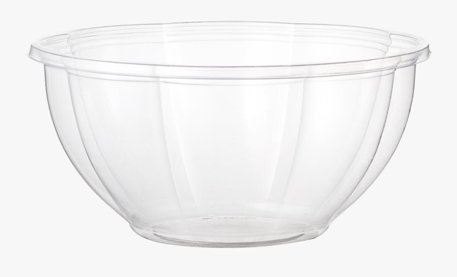 32 Oz Salad Bowl, Clear - Bowl, Transparent Clipart