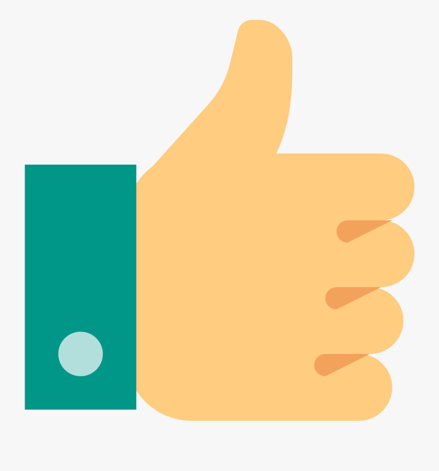 Thumb Down Png - Thumbs Up Icon Color, Transparent Clipart