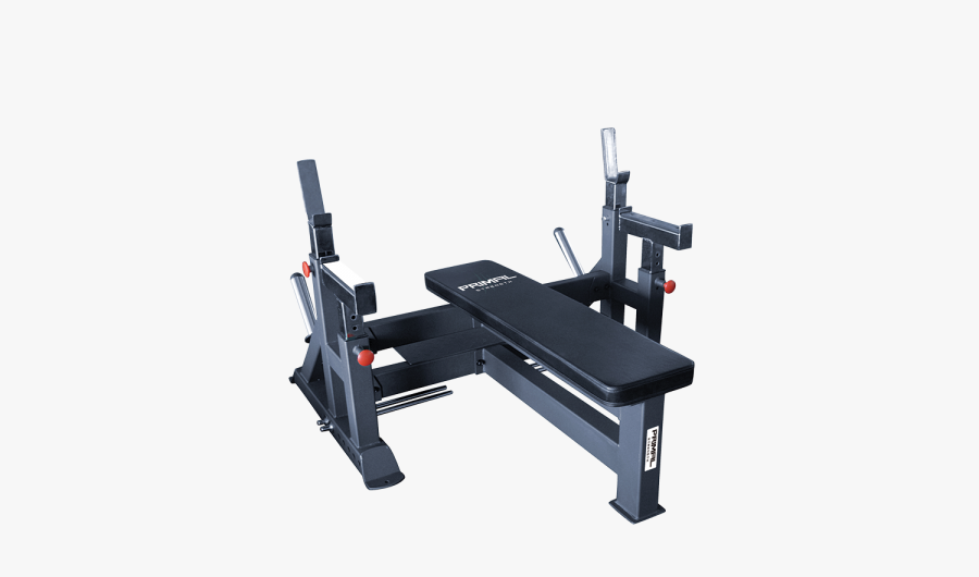 Primal Commercial Olympic Bench - Bench, Transparent Clipart
