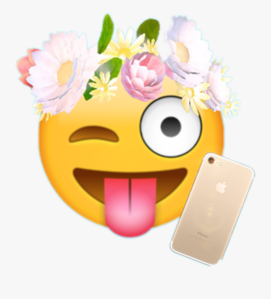 Snapchat Flower Filter Png Flower Crown Overlay Snapchat
