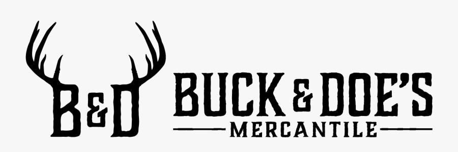 "Buck And Doe""s Mercantile - Horn, Transparent Clipart"