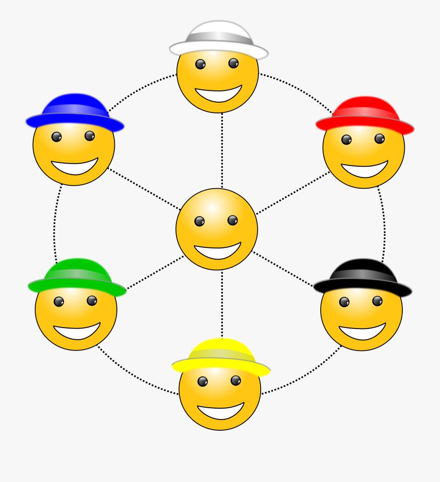 Six Hats To V - Six Thinking Hats, Transparent Clipart