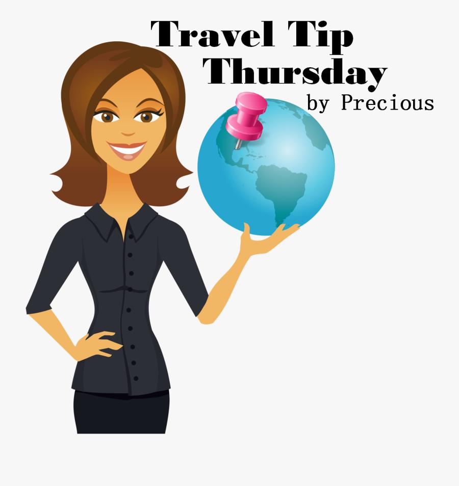 Vacation Travel Tips, Honeymoon And Destination Wedding - Historian Girl Clipart Art, Transparent Clipart