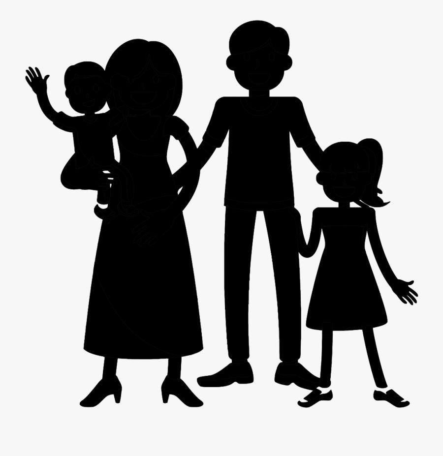 Public Relations Social Group Black & White - Illustration, Transparent Clipart