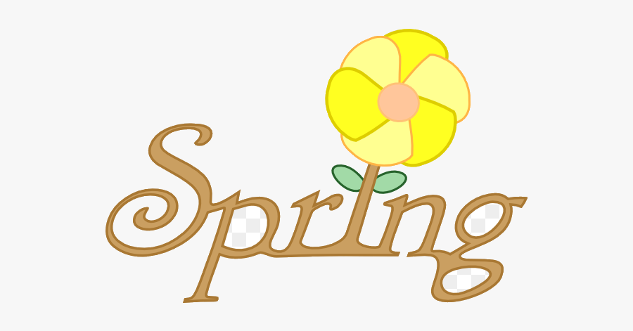 Spring Break I Love Clipart Clip Art Stunning Free - Spring Season In Cartoon, Transparent Clipart