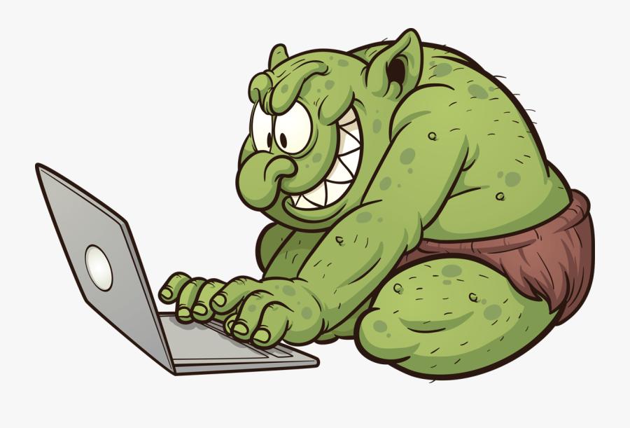 More Than Mean - Internet Troll, Transparent Clipart