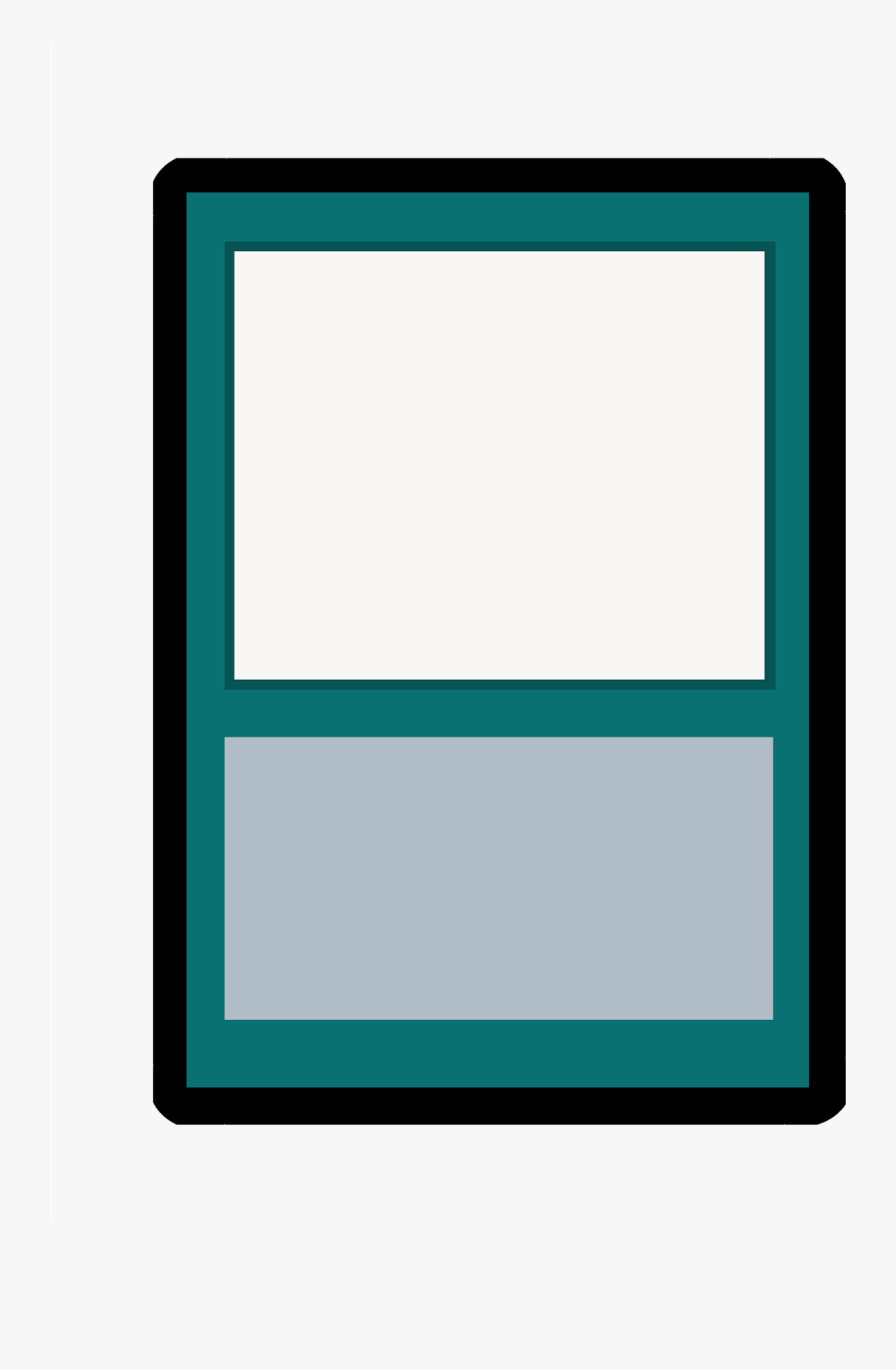 Cards Clipart Blank Card - Magic The Gathering Cards Template, Transparent Clipart