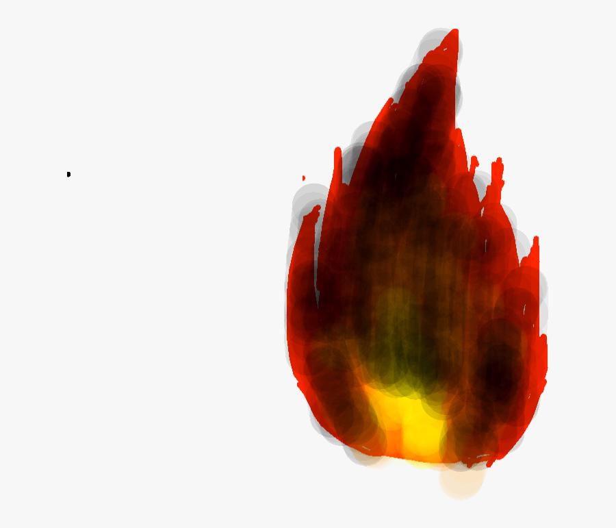 Drawing41 - Black Fire - Illustration - Illustration, Transparent Clipart