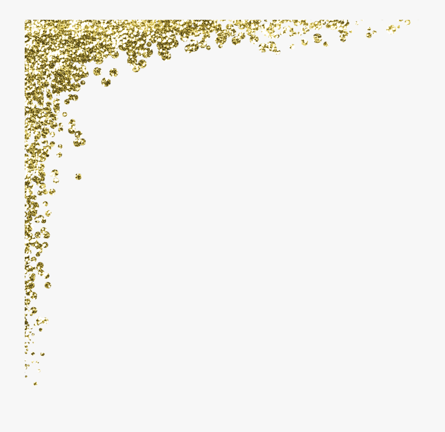 Transparent Glitter Confetti Png - Gold Sparkles Transparent Png, Transparent Clipart