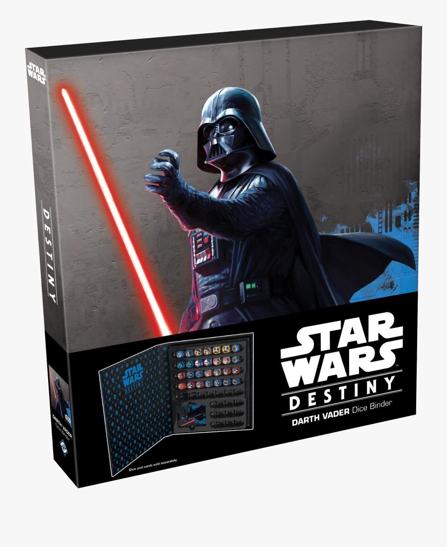 Transparent Darth Vader Helmet Png - Star Wars Destiny Darth Vader Dice, Transparent Clipart