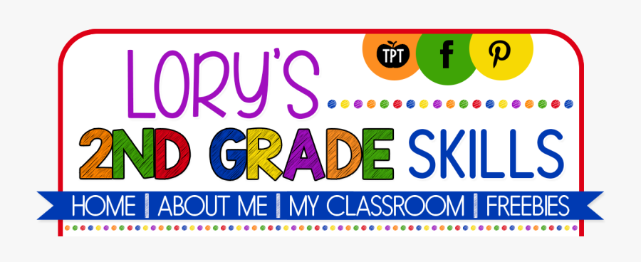 Lory's 2nd Grade Skills, Transparent Clipart